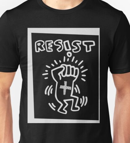 RESIST - H A R I N G - white Unisex T-Shirt