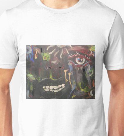 Crazy Mouth  Unisex T-Shirt
