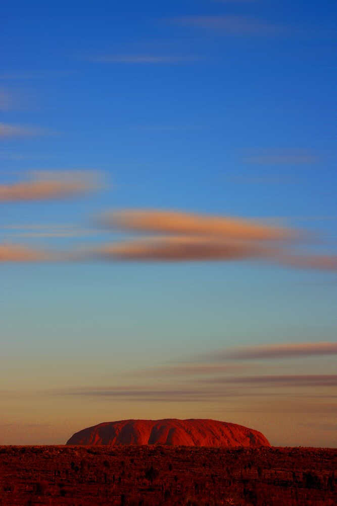 Uluru Sunset by Michael Bailey