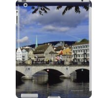 Reflections of Zurich iPad Case/Skin