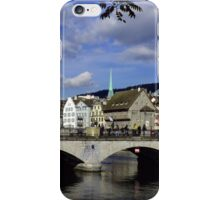 Reflections of Zurich iPhone Case/Skin