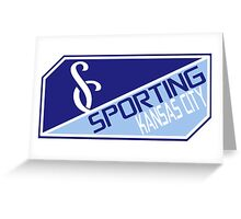 Sporting Kansas City Greeting Card
