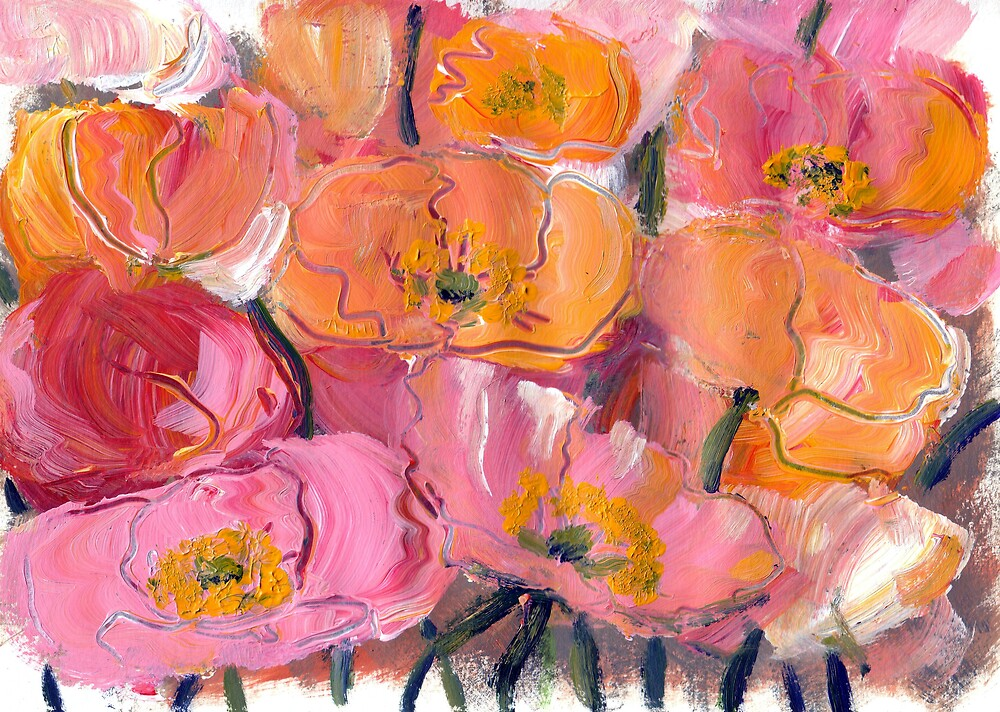 Poppies no.4 by Peter Neish