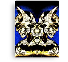 Mirrored Bat Canvas Print