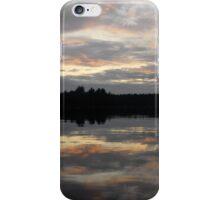 Sunset on the Lake 2 iPhone Case/Skin
