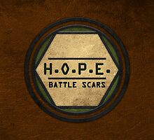 H.O.P.E. Battle Scars Logo by Ghostwalker91