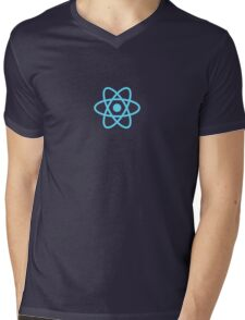 React Logo (ReactJS) Mens V-Neck T-Shirt