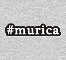 Murica - Hashtag - Black & White Kids Clothes