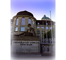 Zurich University Photographic Print