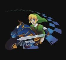 Mario Kart 8 - Link on the Mastercycle Kids Clothes