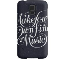 Make Your Own Kind of Music - dark Samsung Galaxy Case/Skin
