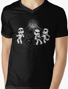 Dark Side Disco Dancing Mens V-Neck T-Shirt