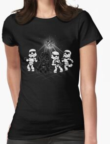 Dark Side Disco Dancing Womens Fitted T-Shirt