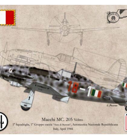 Macchi MC. 205 Veltro Sticker