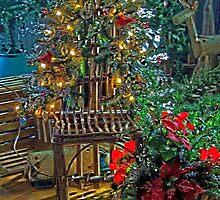 The Woodland Christmas Tree by wiscbackroadz