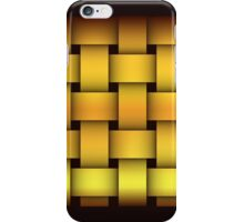 Gold Weaving iPhone Case/Skin