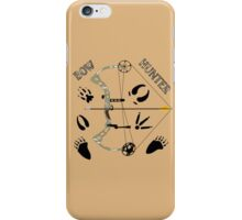 """""""Bow Hunter"""" Gifts & Apparel iPhone Case/Skin"""