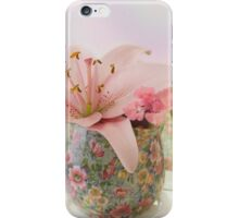 Pink Lily Rainbow iPhone Case/Skin