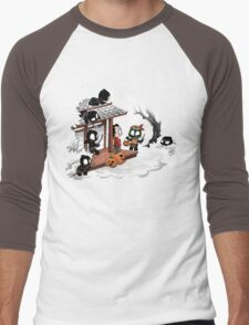 Halloween Decoy Men's Baseball ¾ T-Shirt