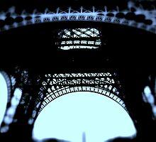 Inside Eiffel by Leia