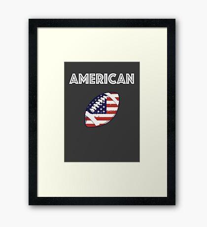 American Football Framed Print