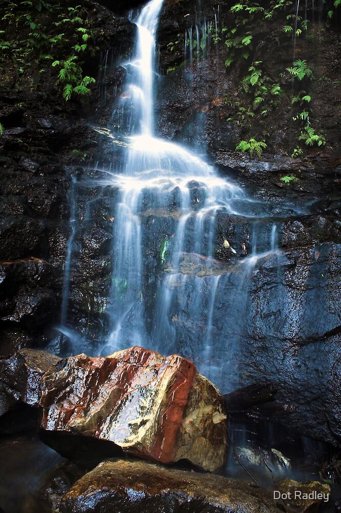 Red rock Falls by Dot Radley
