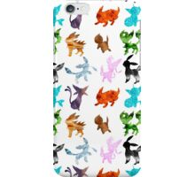 Eeveelutions // Together iPhone Case/Skin