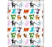 Eeveelutions // Together iPad Case/Skin