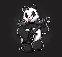 Heavy Metal Panda by dooomcat
