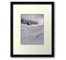 Down the mountain ... Framed Print