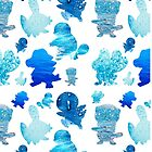 Water Type Starters Pattern by Gage White