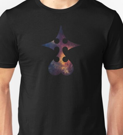 Galaxy Kingdom Hearts Nobody Symbol Unisex T-Shirt