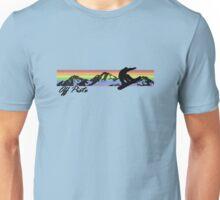 Off Piste Snowboarding Unisex T-Shirt