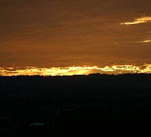 Gold coast burning by Corey Mingari