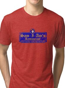 Sam-I-Am's Distressed Tri-blend T-Shirt