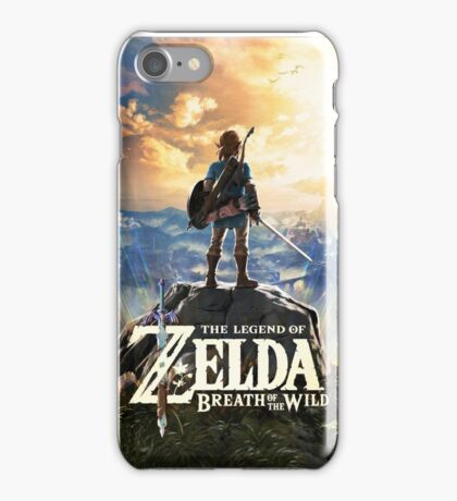 Zelda Breath of the Wild Cover Link iPhone Case/Skin