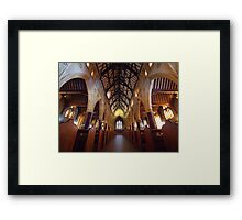 Saint Francis Xavier Cathedral Interior Framed Print