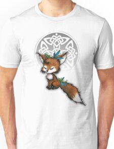 Celtic Spirit Fox Unisex T-Shirt