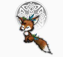 Celtic Spirit Fox Womens Fitted T-Shirt