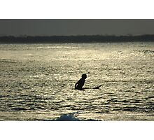LONE SURFER Photographic Print