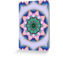 Mandala : Heart Energy Centre Greeting Card