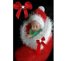 ☃ ☃ SILENT NIGHT ~ PRECIOUS IS THE GIFT OF LIFE ~JOY TO THE WORLD ❤‿❤BABIES FIRST CHRISTMAS -PICTURE/CARD AND VIDEO I MADE UP..JESUS LOVES THE LITTLE CHILDREN ☃ ☃ Photographic Print