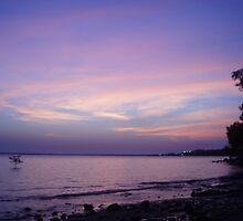 Rainbow sky by nafe