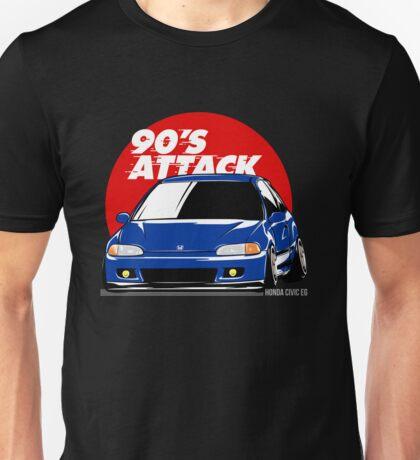 Honda Civic EG - 90s Attack Unisex T-Shirt