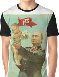 Trump Putin Graphic T-Shirt