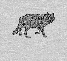 """""""Wolf Spirit"""" - surreal tribal totem animal T-Shirt"""