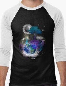 Cosmic geometric peace Men's Baseball ¾ T-Shirt