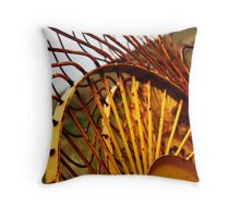 Rakes Throw Pillow