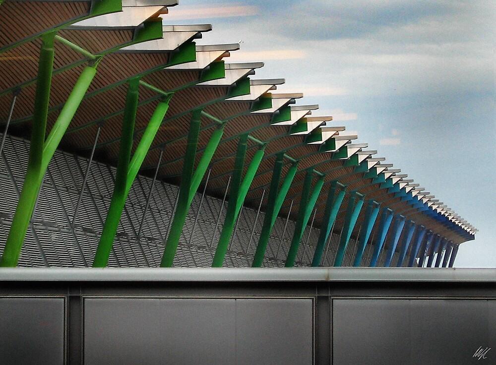 Madrid Airport by Paul Vanzella