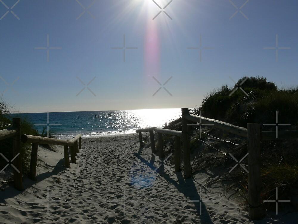 A walk to the beach by Sandra Chung